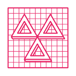 Gophr Courier Triangle Icon