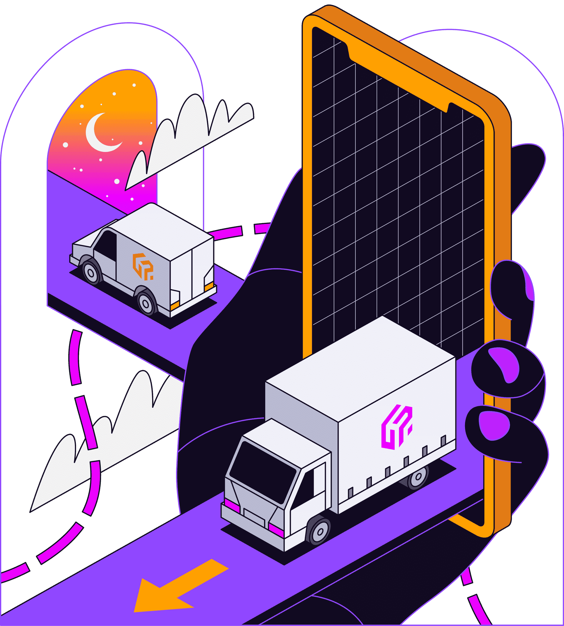 Gophr Illustration H1 Mobile